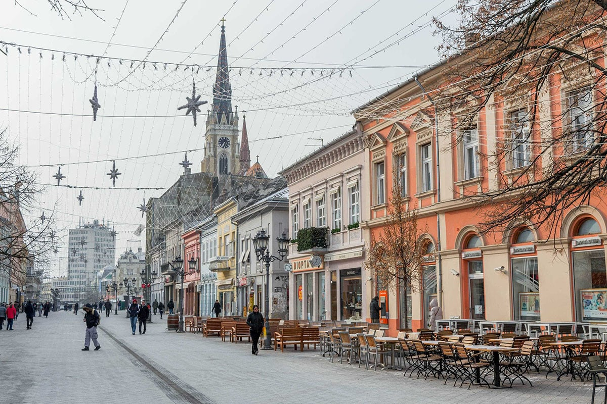 Novi Sad city center